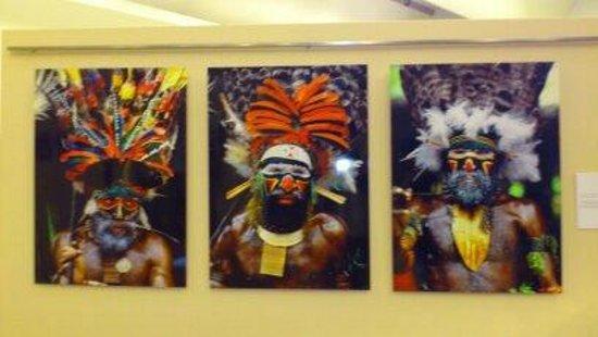 Museo de la Evolución Humana: exposición fotográfica dentro del museo
