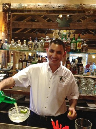 Ramon's: This is our favorite waiter, always smiling and has our drinks ready as soon as we sit down