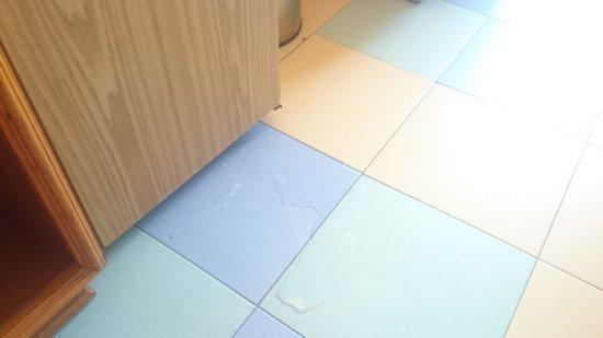 Iberostar Bouganville Playa : leaking fridge