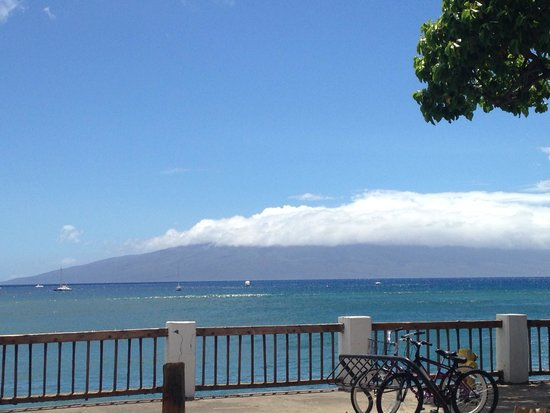 The Westin Maui Resort & Spa : View from hotel beach
