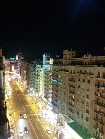 Hotel Vincci Via 66 : Vistas nocturnas desde la terraza