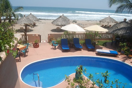 Casa de La Sirena: My view from the Mini Villa balcony