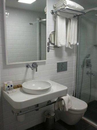 Poseidon Hotel : Новая сантехника