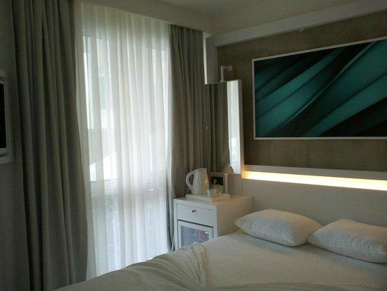 Poseidon Hotel : Современный дизайн