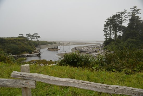 Kalaloch Lodge: view from the lodge