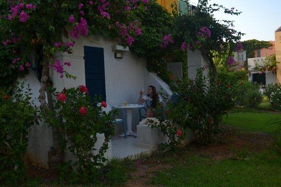 Zorbas Village : il nostro balcone