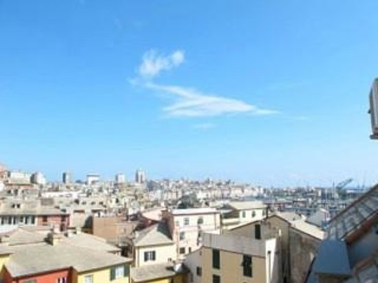 Hotel Agnello D'Oro : View from the terrace of my room