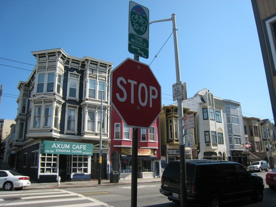 "Streets of San Francisco Bike Tours: Along the route of ""The Wiggle"""