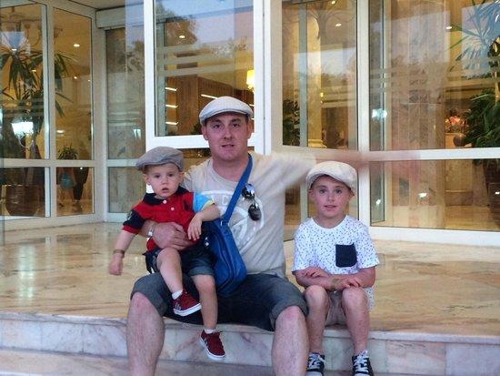 Marhaba Royal Salem: Me with my boys