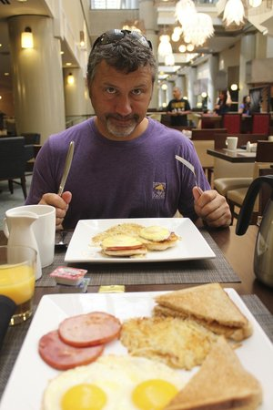 Columbia Marriott: Fantastic Breakfast with Great service and value!!