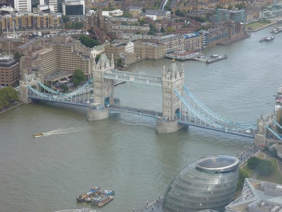 The View from The Shard: Tower Bridge