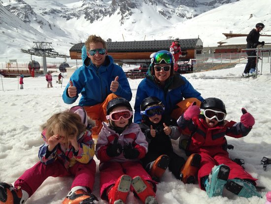 Ultimate Snowsports Tignes: End of a happy week!