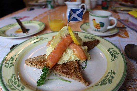 Stanton Villa B&B: Breakfast