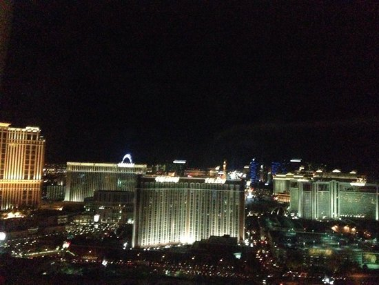 Trump International Hotel Las Vegas: Strip view from room 4528