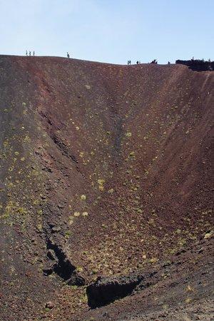 Monte Etna: Mount Etna previous volcanic cone