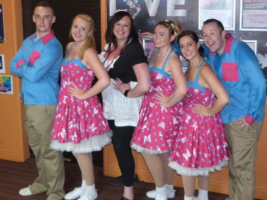 Parkdean - Looe Bay Holiday Park: Me with the fabulous team