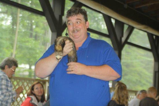 Animal educator at Lake George RV Park