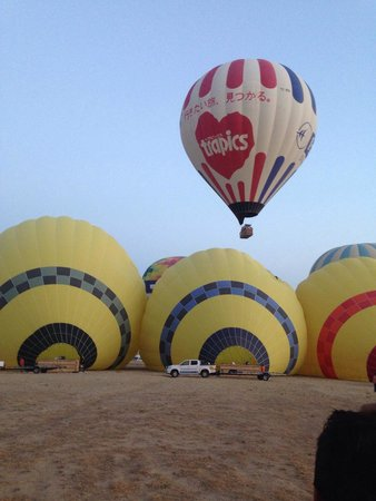 Balloon Turca: Lift-off area