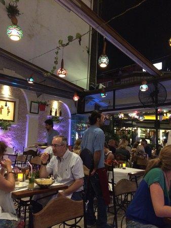 Albura Kathisma : at 10 o,clock in the restaurant