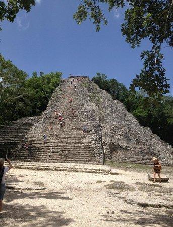 Mexico Maya Caribe: piramide coba