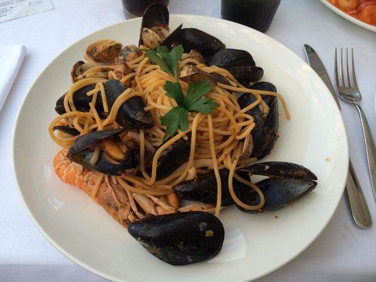 La Capannina: Spaghetti frutti di mare