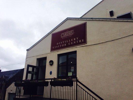 Cardhu Distillery: cardu distillery.