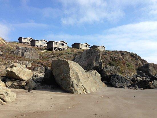 Steep Ravine Cabins: A short walk to the beach