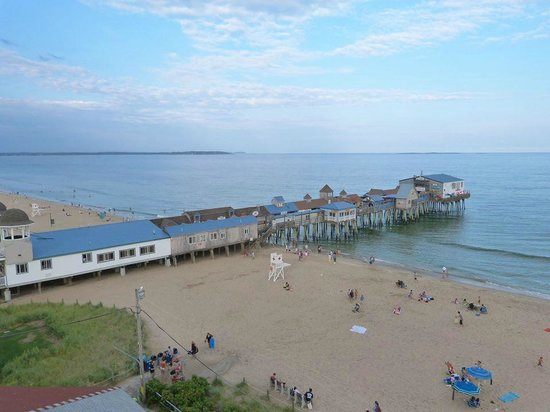 Beach Gardens Motel and Suites: The Pier, view from fairest wheel at Fun Palace