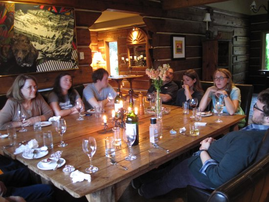 The Old Vineyard: enough room for 14 to dine together