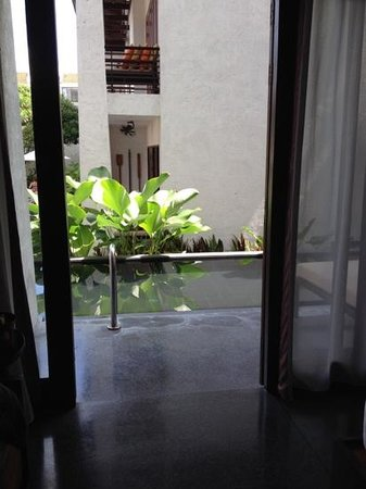 U Chiang Mai: outside our room