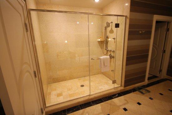 The Palazzo Resort Hotel Casino: Huge Shower Bath