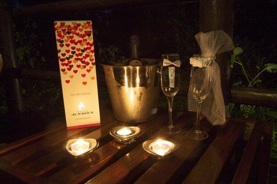 Kurhula Wildlife Lodge: Honeymoon special
