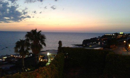 Sorriso Thermae Resort & Spa: tramonto dal ristorante