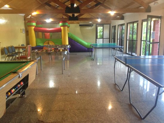 Exe Hotel Cataratas : Salón de juegos