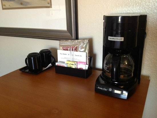 Old Town Inn: coffee machine