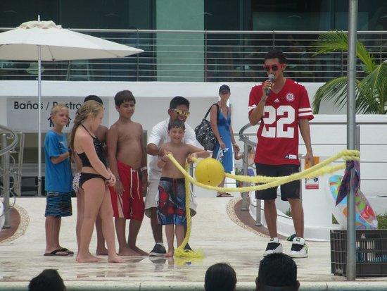 Beach Palace: Logan doing activities