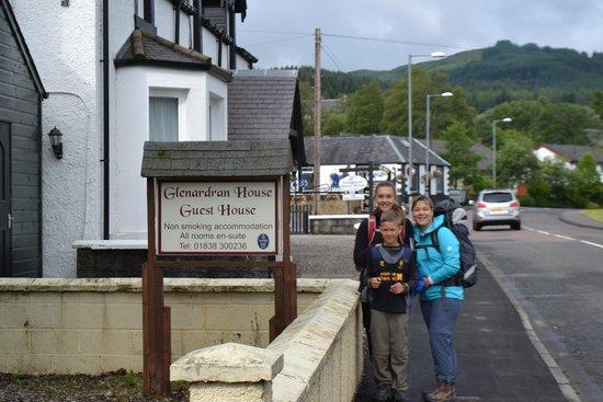 Glenardran House: A Great Start of our Scotland Tour