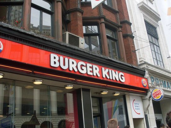 Burger King Leicester Square : Outra foto