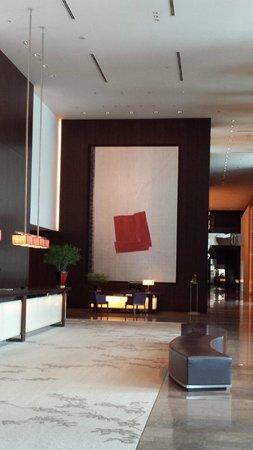 Conrad Tokyo: Reception area