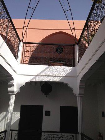 Riad Elizabeth: patio