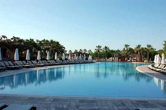 Main Pool at Barut Lara Resort Hotel