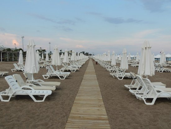 Beach Area at Barut Lara Resort Hotel