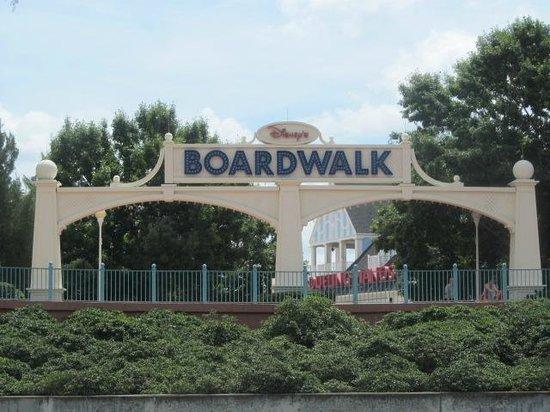 Disney's BoardWalk Villas: Entry coming back from Disney Studios