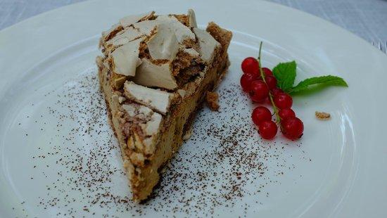 Polska Rozana : Meringue cake