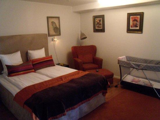 Bizapartment Gärdet : спальня