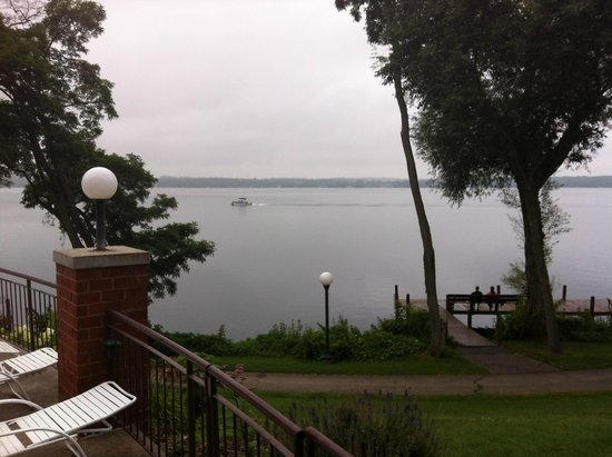 Heidel House Resort & Spa : View of lake from our room.