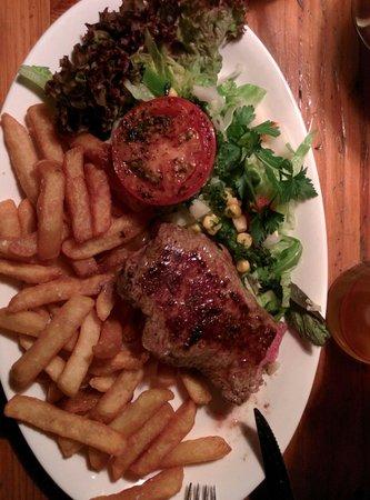 Puk: La bistecca alla salsa bernaise