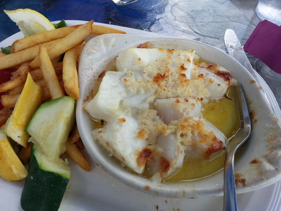 Eastport Chowder House: haddock and scallop casserole
