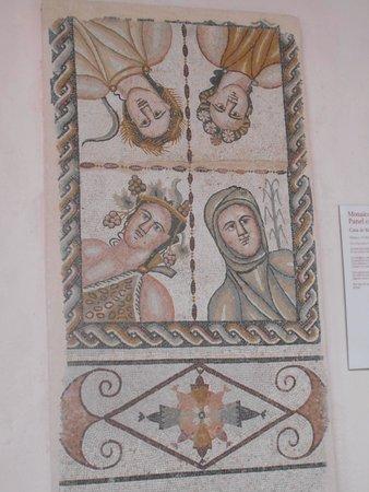 Museo de Arqueología: Mosaico de las estaciones