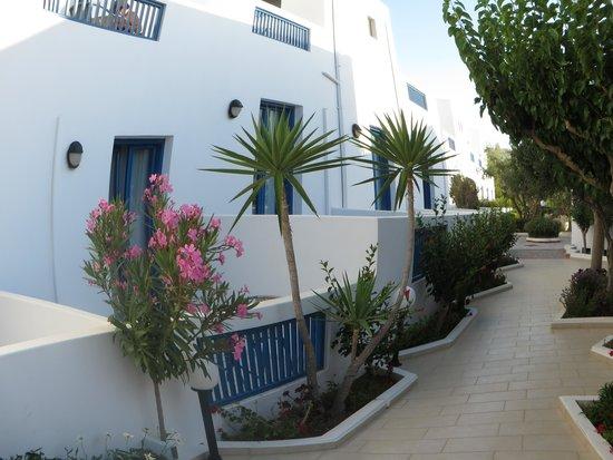 Hara Ilios Hotel : Balcon de notre chambre